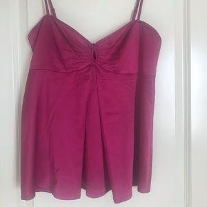 Beautiful satin fabric blouse.